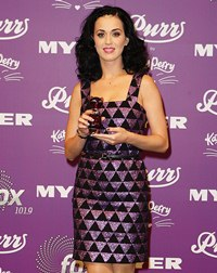 Katy Perry Wearing Versus Versace