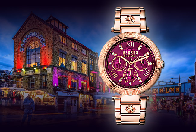 Versus Versace V-Camden Market Watch Collection