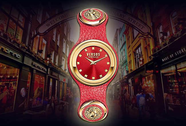 Versus Versace V-Carnaby Street Watch Collection