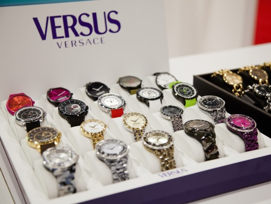 New Versus Watches on Display at WWD Magic 2014