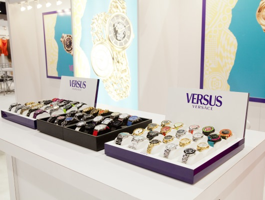 Versus Watches on Display at WWD Magic 2014