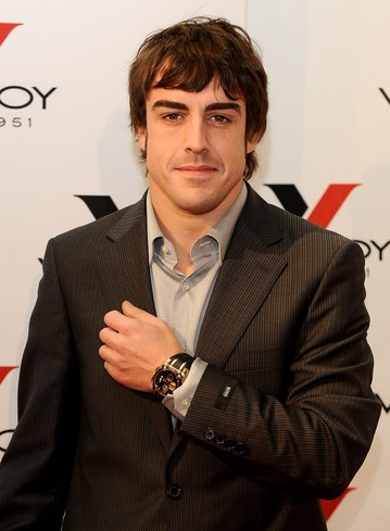 Fernando Alonso Spanish Formula 1 Racing World Champion and Current Viceroy Ambassador
