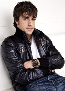 Fernando Alonso With His Viceroy Alonso Chronograph