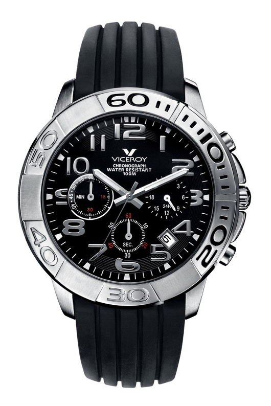 Viceroy Mens Strong and Steel Chronograph - 40321-55