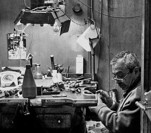 An Experienced Watchmaker