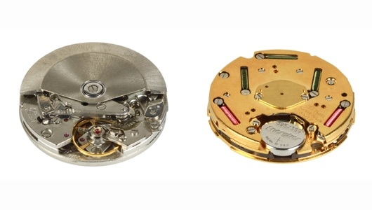 Mechanical and Quartz Watch Movement