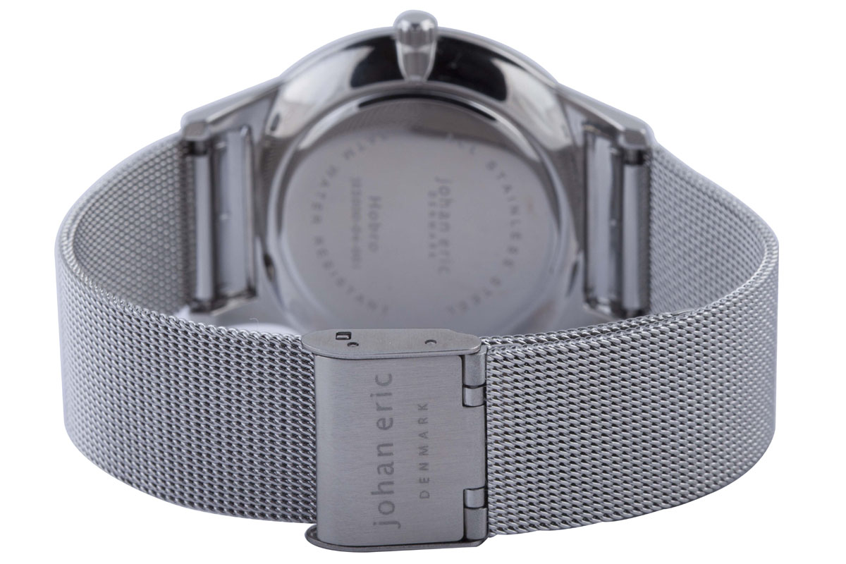 watch stainless watches metal ladies mesh skagen black dial steel