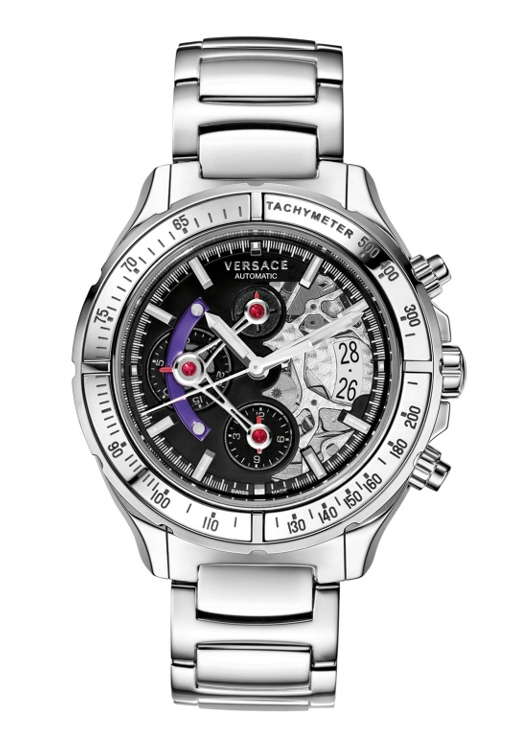 Versace VK801 0013 DV One Skeleton Automatic Chronograph