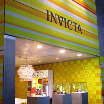 Invicta Watches at Baselworld 2011 Hall of Dreams