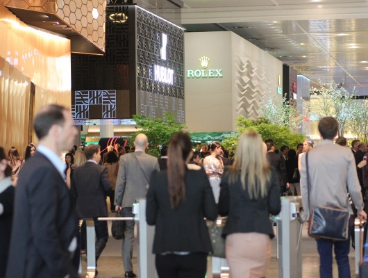 Baselworld 2013 Entrance inside view