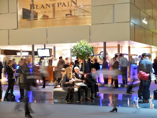 Baselworld Bustling - Blancpain Watches