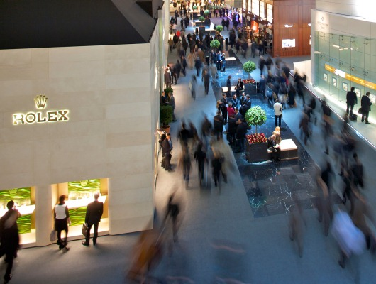 Baselworld Hall of Dreams - Rolex and Patek Philippe Watches