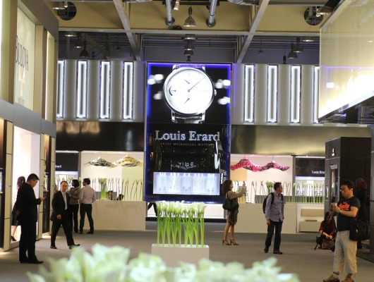 Louis Erard Baselworld 2013 Booth