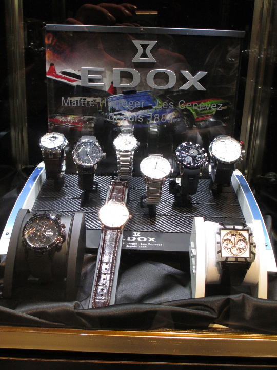 Edox Couture Time Exhibit