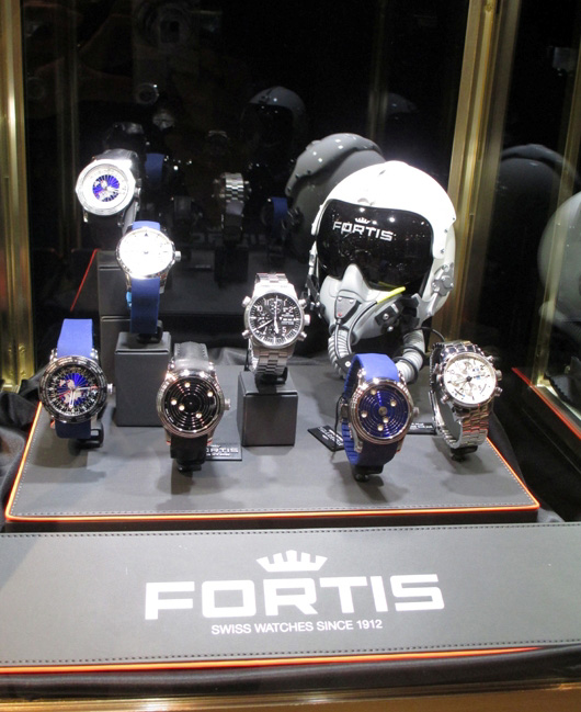 Fortis Couture Time Exhibit