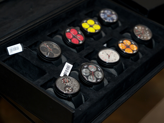 Assorted Meccaniche Veloci Watches at Couture 2013