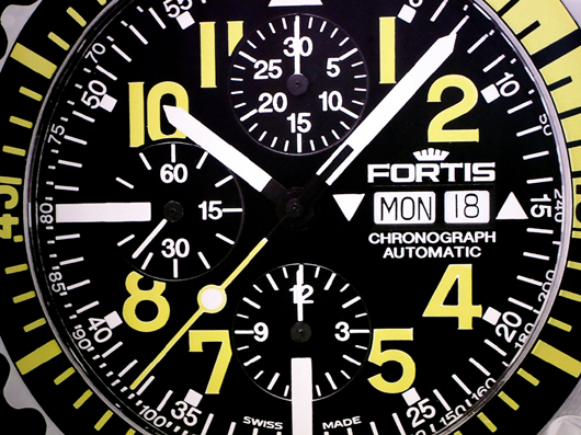 Fortis Marinemaster B-42 Chrono at Couture 2013