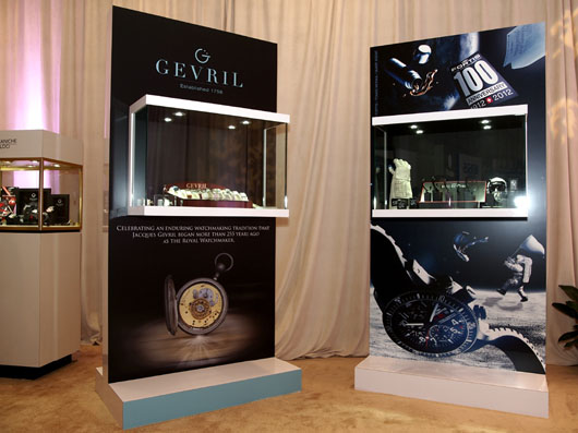 Gevril and Fortis Display at Couture 2013