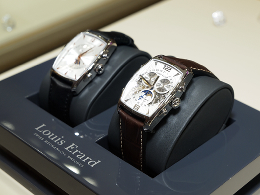 Louis Erard Moonphase Watches at Couture 2013