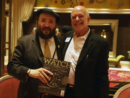 Samuel Friedmann and Glen Bowen of Watch Journal