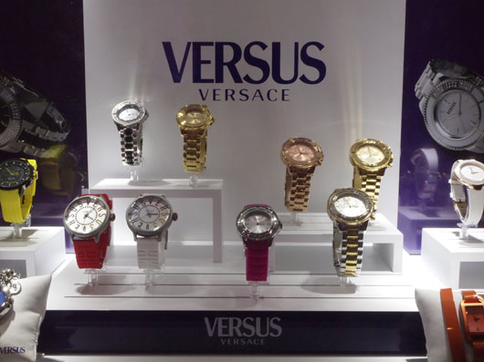 Versus Couture 2013 Display