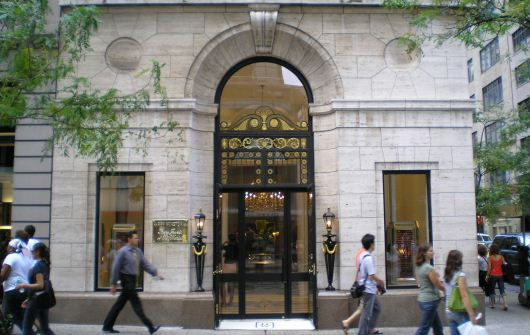 Harry Winston Storefront NYC