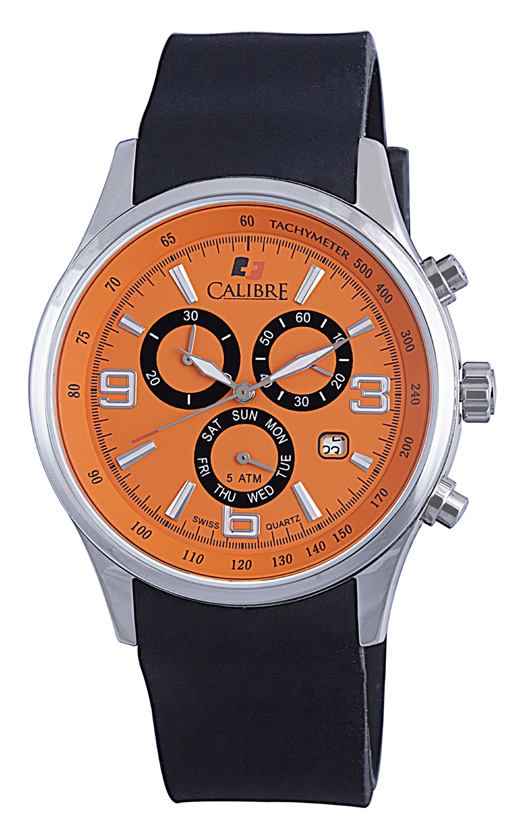 Calibre Mauler SC-4M1-04-079 Mauler Orange Chronograph
