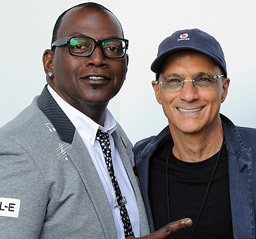 Randy Jackson and Jimmy Iovine
