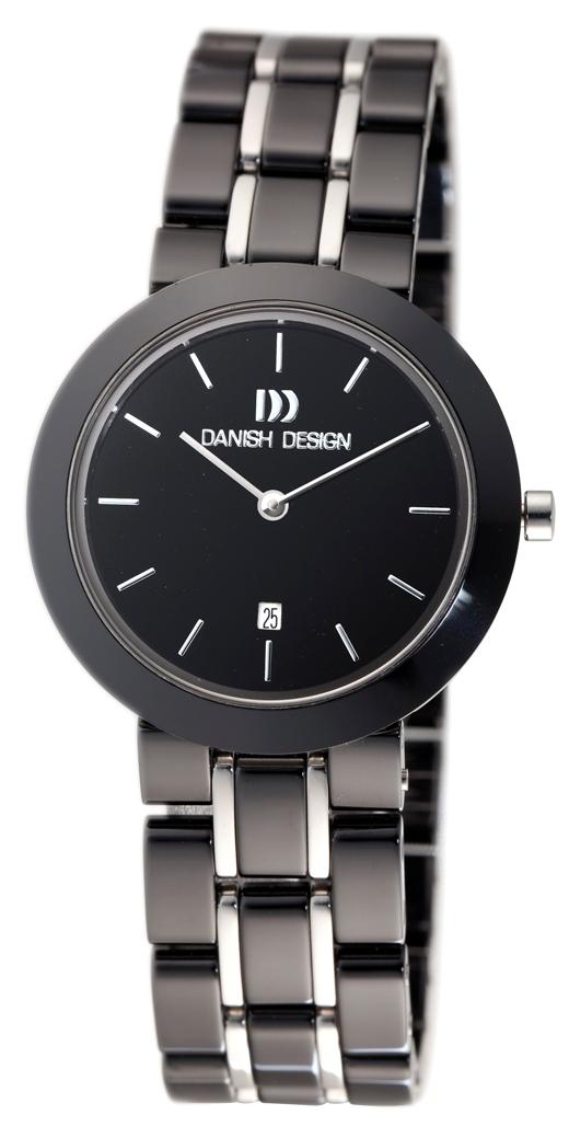 Danish Design Ladies IV64Q833 Black Ceramic Fashion Watch