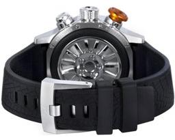 Edox Mens 01110 3 NIN WRC Automatic Chronorally Watch - Back View