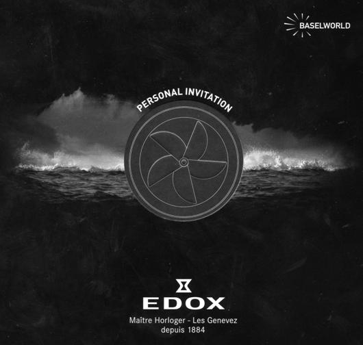 Edox Swiss Watches at BaselWorld 2011 - Personal Invitation