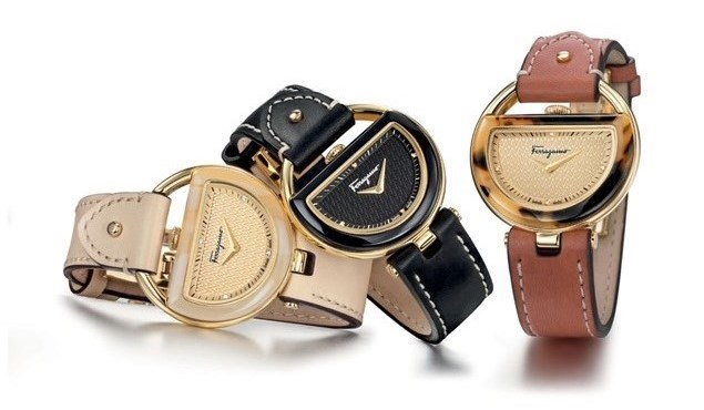 Swiss-Made Ferragamo Buckle Fashion Watches