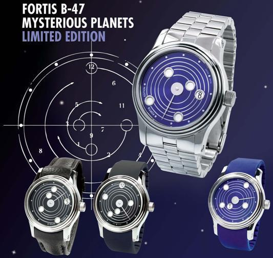 Fortis B-47 Mysterious Planets Limited Edition Collection