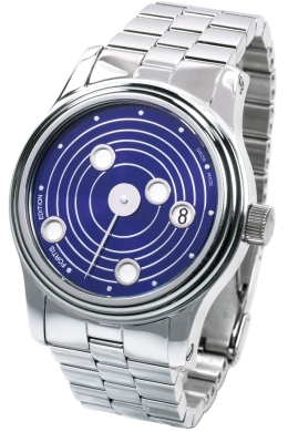 Fortis Mens 677-20-35-M B-47 Collection Mysterious Planets New Limited Edition Blue Dial Watch