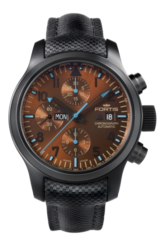Fortis 656.18.95 Blue Horizon Chronograph