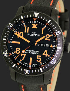 Fortis Black Mars 500 Limited Edition