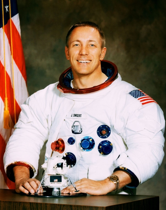 Astronaut Jack Swigert Wears His Rolex GMT