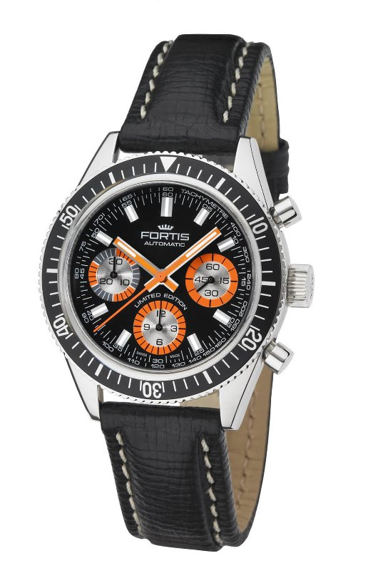 Fortis Mens 800.20.80 L.01 Marinemaster Vintage Chronograph Watch