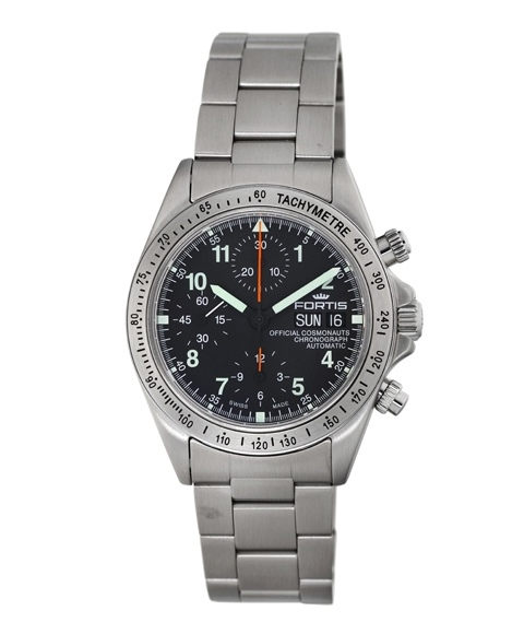 Fortis Mens Official Cosmonaut Collection Automatic Chronograph -  630.10.11 M