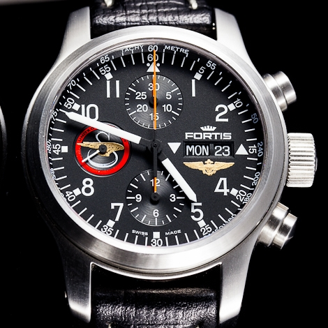 Fortis Sikorsky Squadron Watch Front