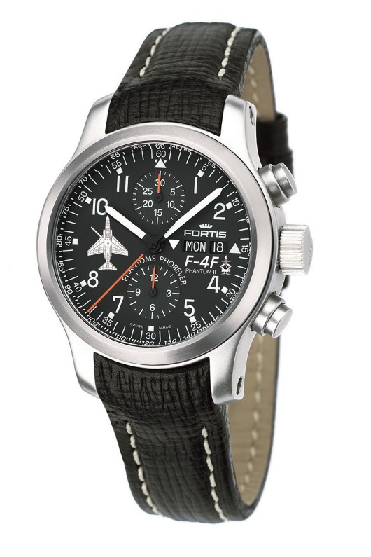 Fortis Phantoms Phorever Flieger Automatic Chronograph Watch 635-10-11-L01