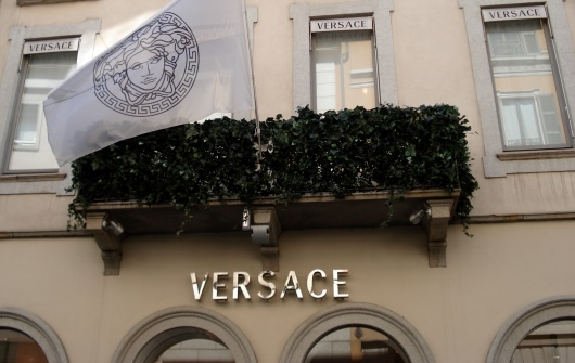Versace Headquarters in Milan, Italy