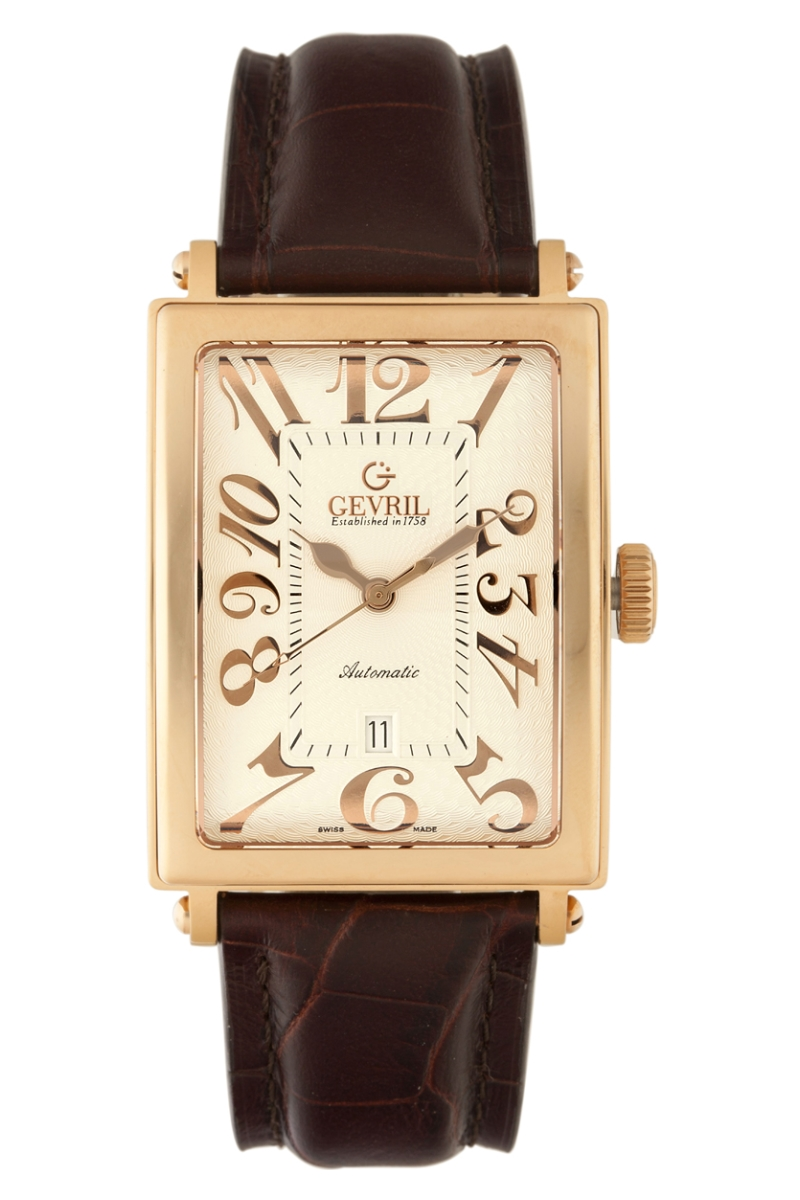 Watch brands luxury fashion celebrities gevril group for Gevril watches