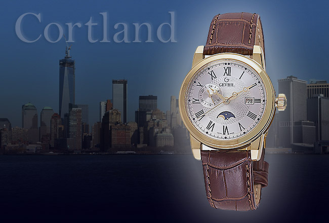 Gevril cortland watch collection watch brands for Gevril watches