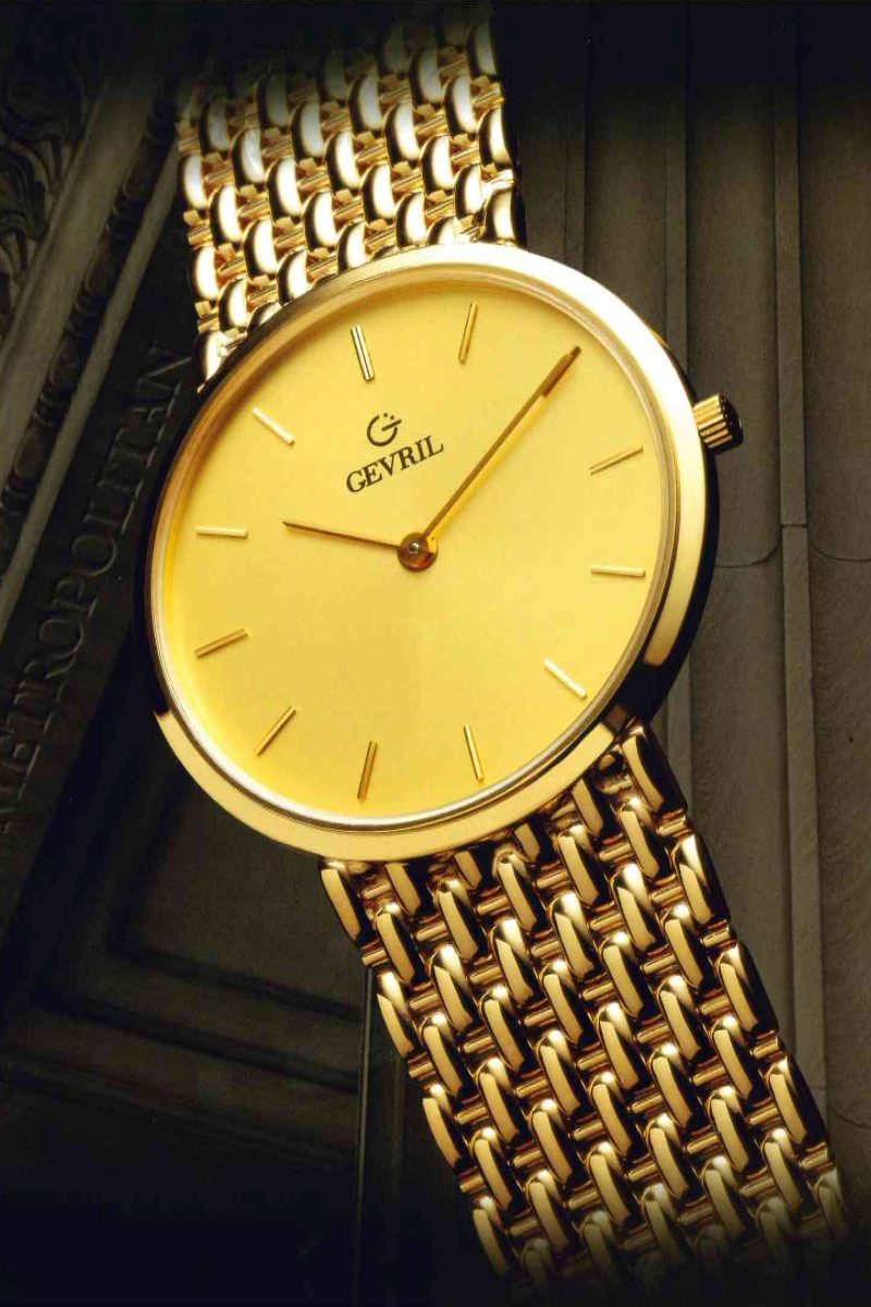 Historic gevril metropolitan watch collection watch brands for Gevril watches