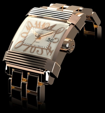 Gevril Mens 1200 New Limited Edition Avant-Garde Luxury Watch
