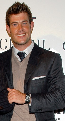 Jesse Palmer Wearing Gevril Avenue of Americas Serenade Watch