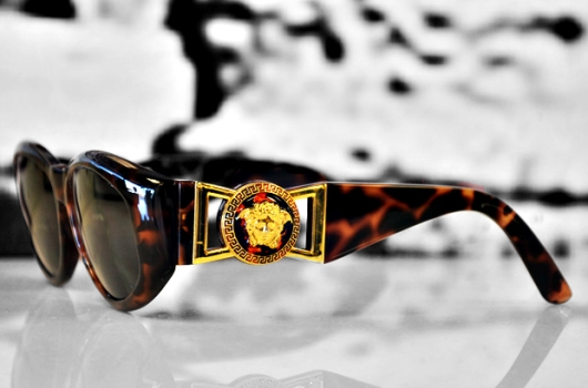 Versace Sunglasses With Medusa Logo