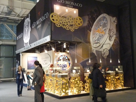 Gio Monaco Watch Exhibit at Baselworld 2012