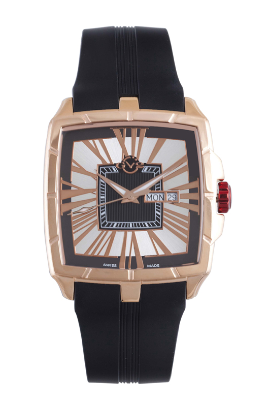 Gevril gv2 mens 9002 fiamme limited edition watch luxury watches for Gevril watches